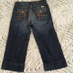 David Kahn Capri Jeans